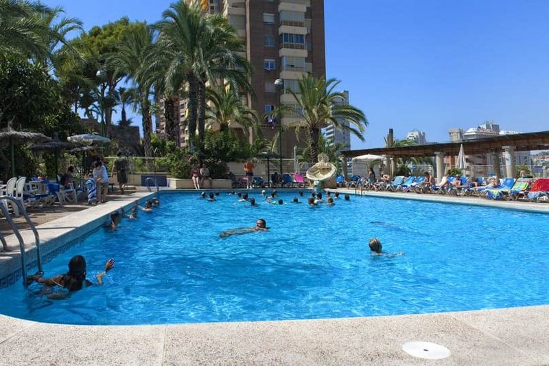 Swimming pool Hotel Servigroup Torre Dorada Benidorm