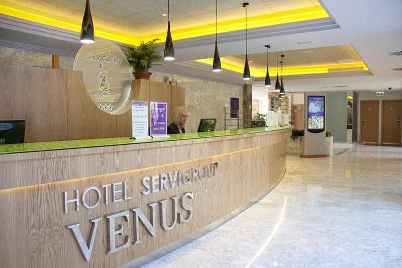 Front desk Hotel Servigroup Venus Benidorm