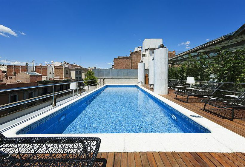 Swimming pool Claris Hotel Barcelona