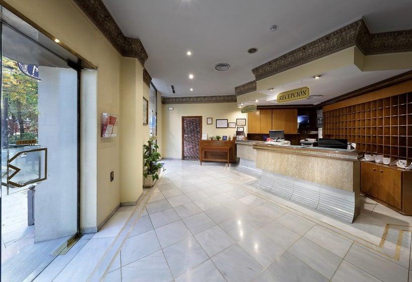 Reception Hotel Juan Miguel Granada