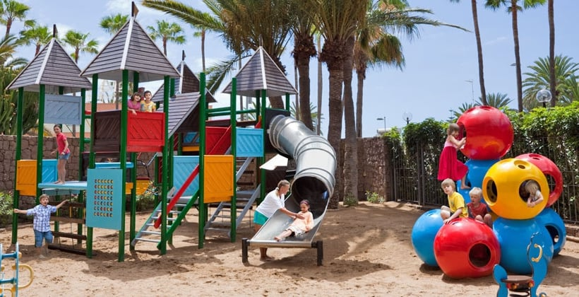 Children's facilities Seaside Hotel Palm Beach Maspalomas