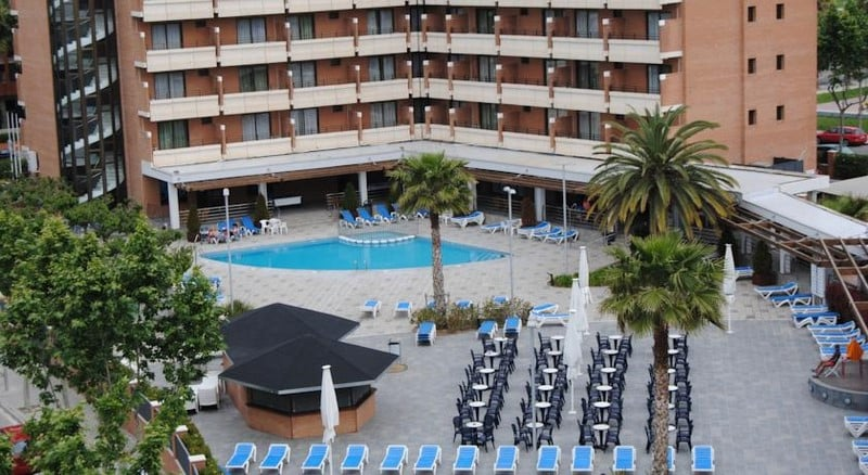 Swimming pool Hotel California Garden Salou
