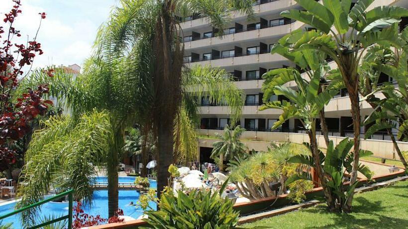 Outside Hotel Puerto de la Cruz