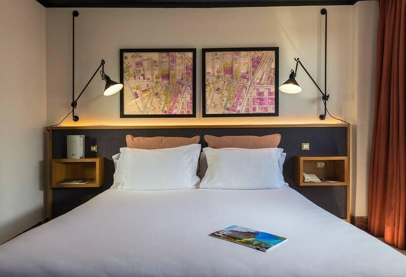 Hotel h10 tribeca madrid las mejores ofertas con destinia for Habitacion de 8 metros cuadrados