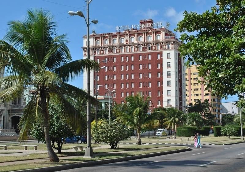 Outside Hotel Roc Presidente Havana