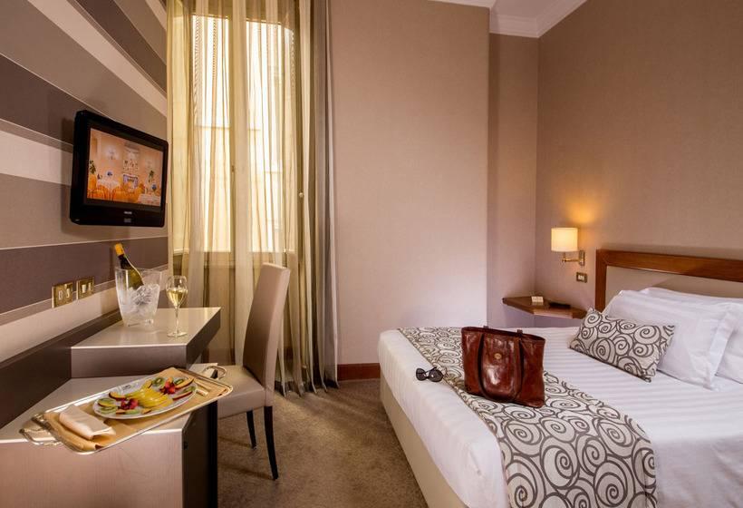 Habitación Hotel Savoy Roma