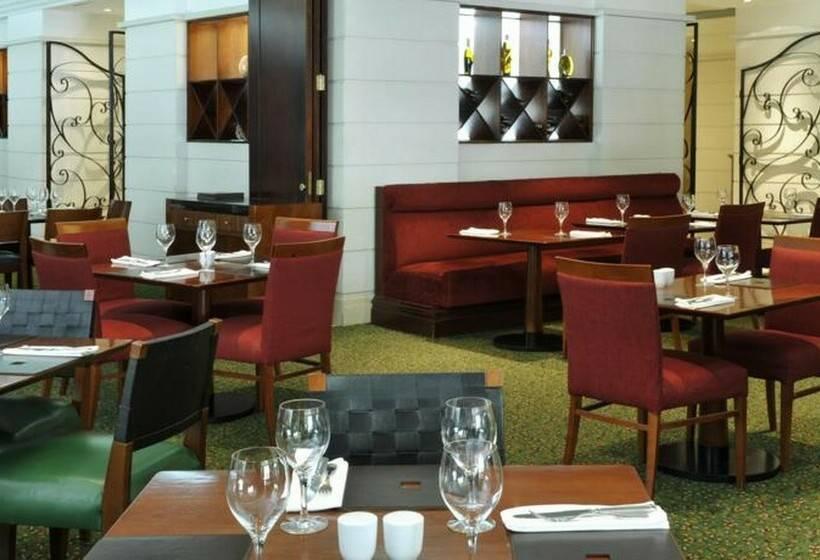 Cafeteria Hotel Lisbon Marriott