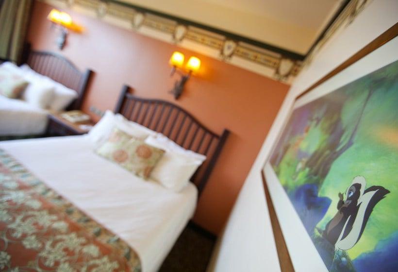 Habitacion montana hotel sequoia disney