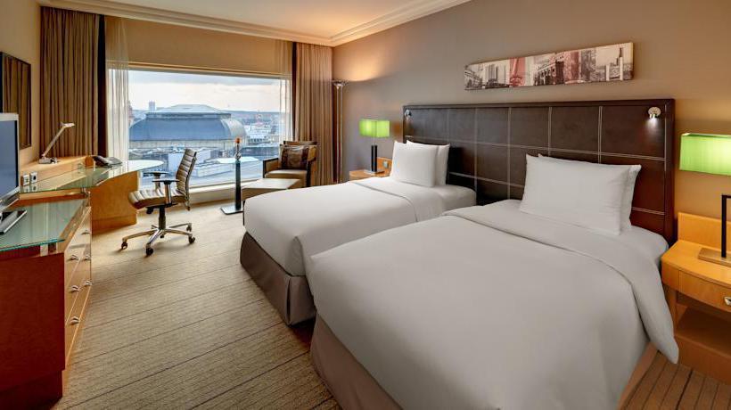 Room Hotel Hilton Frankfurt