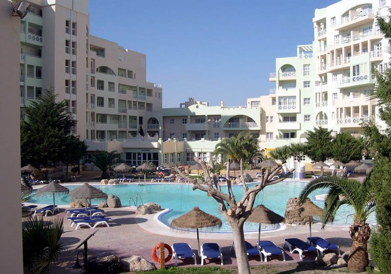 Outside Apartamentos Fenix Beach Roquetas de Mar
