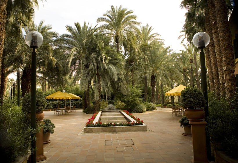 hotel jardin milenio en elche destinia
