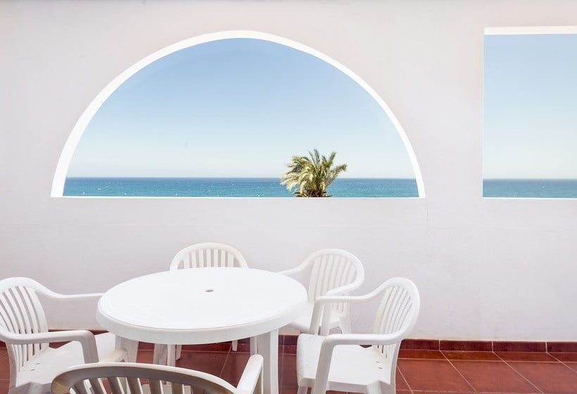 Terrace Apartamentos Best Pueblo Indalo Mojacar