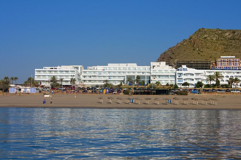 Outside Hotel Servigroup Marina Playa Mojacar