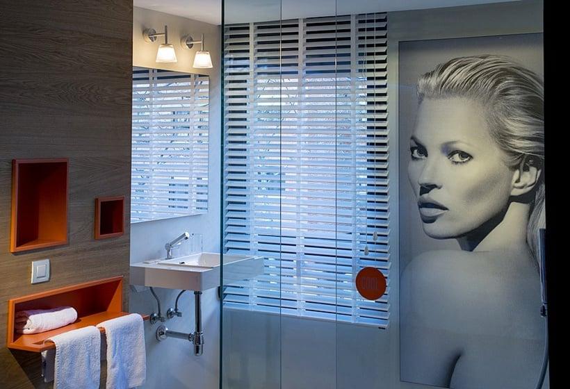 Cuarto de baño Hotel Mirador de Chamartín Madrid