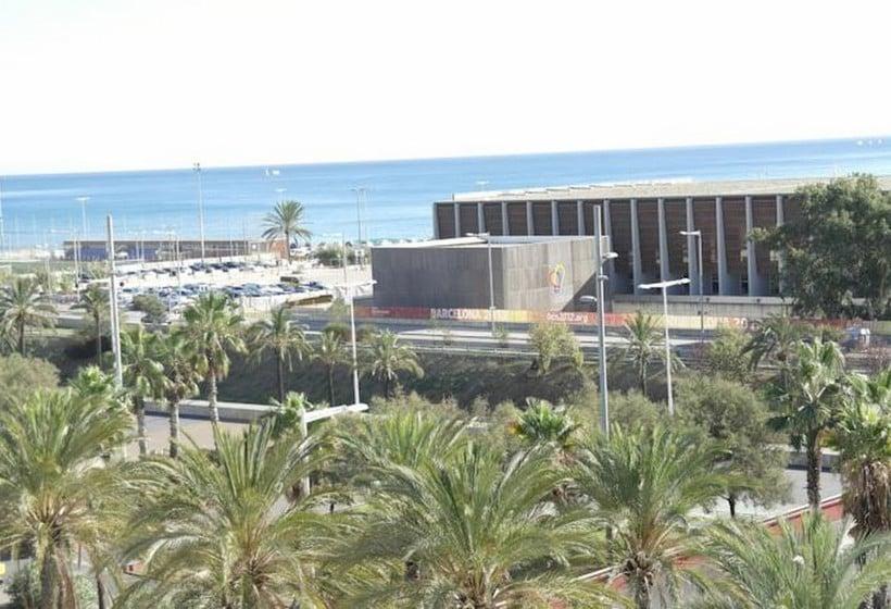 Exterior Eurohotel Diagonal Port Barcelona