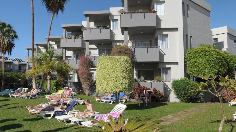 Outside Apartamentos HG Tenerife Sur Los Cristianos