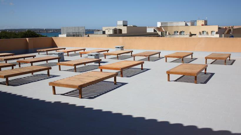 Terrace Hotel Fergus Capi Playa Platja de Palma