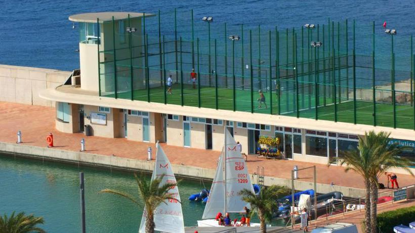 Sport center Hotel Puerto Juan Montiel Aguilas