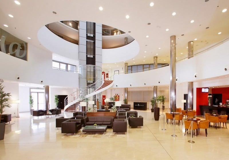 Reception Hotel Attica 21 Coruña A Corunya
