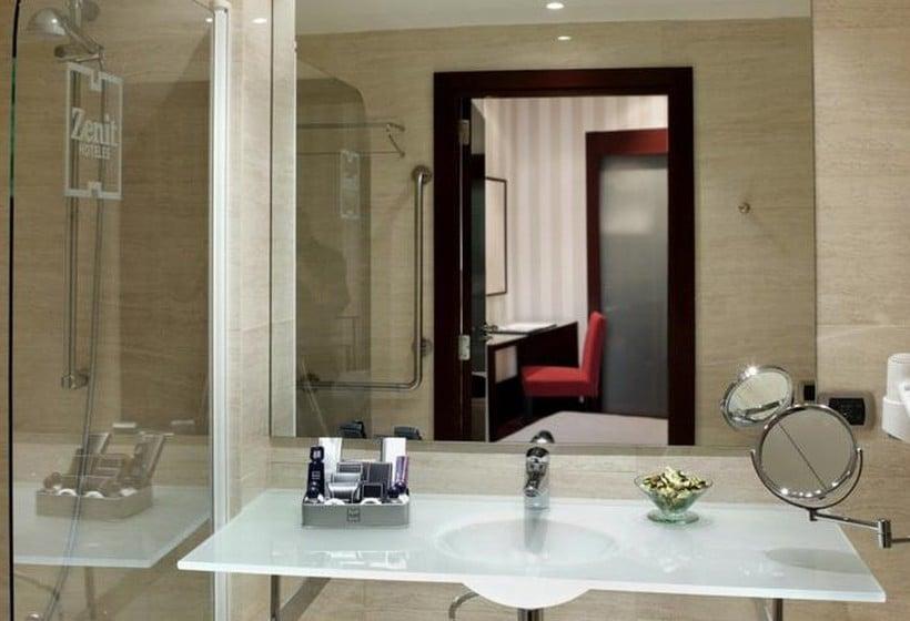 حمام هتل Zenit Bilbao بیلبائو