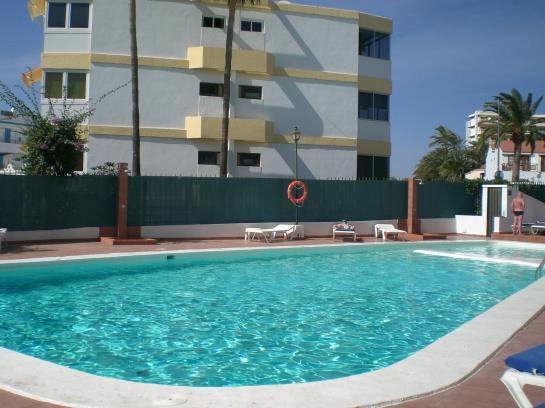 Apartamentos el cisne en playa del ingl s destinia - Apartamentos en playa del ingles baratos ...