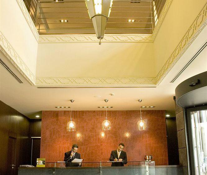 Front desk Hotel Barceló Casablanca