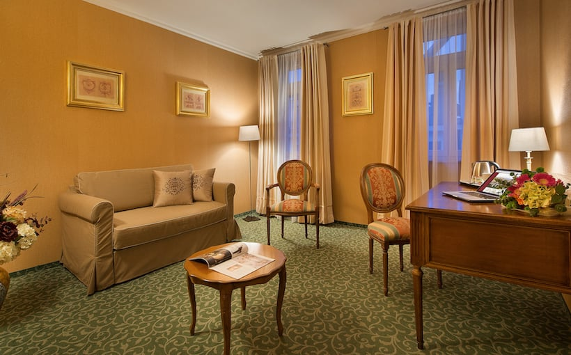 Common areas Hotel Angelis Prague