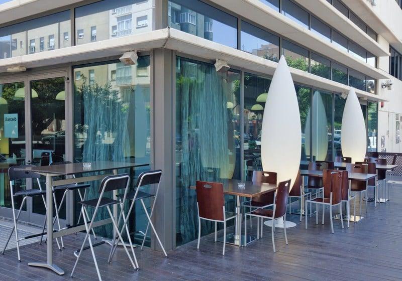 Terrace Hotel Barceló Cádiz Cadiz