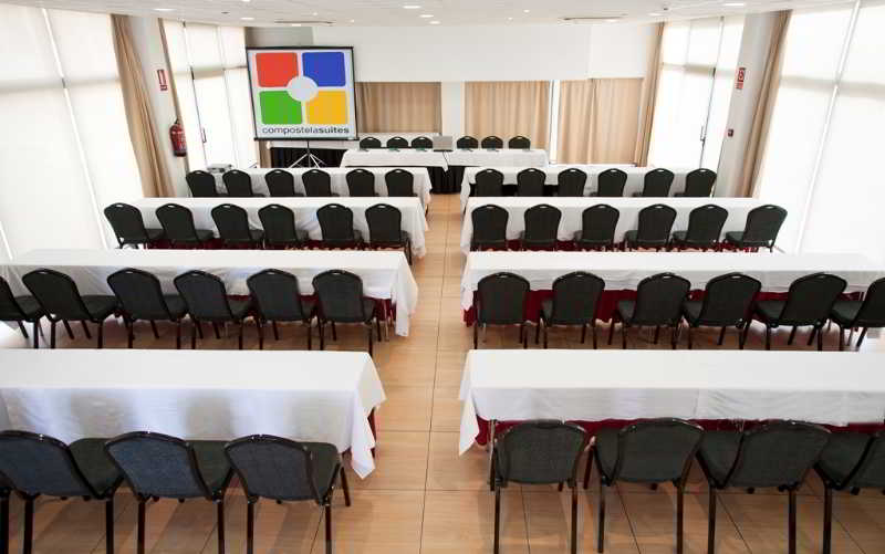 Meeting rooms Aparthotel Compostela Suites Madrid