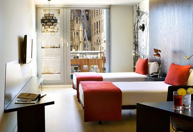 Room Hotel Ayre Rosellón Barcelona
