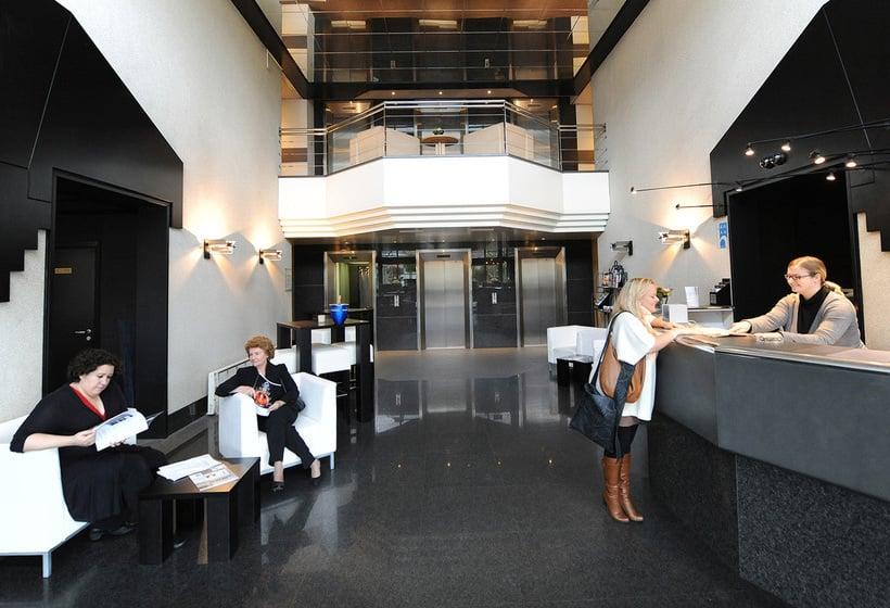 Reception Hotel City Inn Luxe Antwerpen