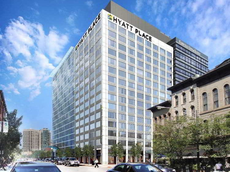 Hotel hyatt place chicago river north in chicago starting for River hotel chicago