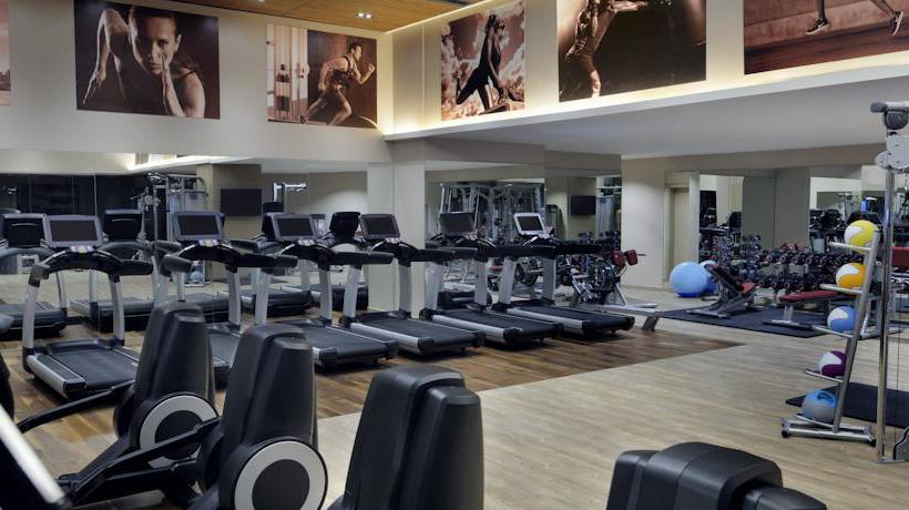Sports facilities Istanbul Marriott Hotel Sisli
