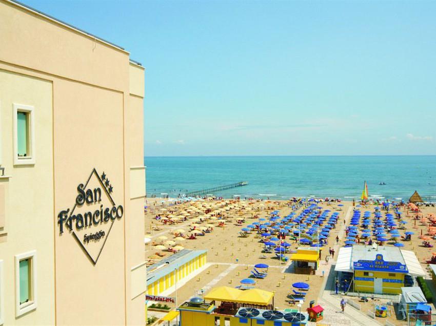 Hotel San Francisco Spiaggia Rimini