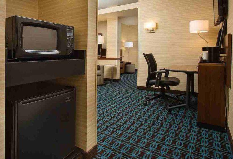 Fairfield inn  suites columbus osu, колумбус