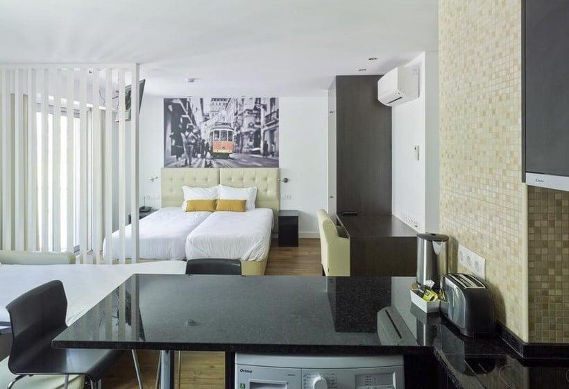 Habitación Lisbon City Apartments & Suites Lisboa