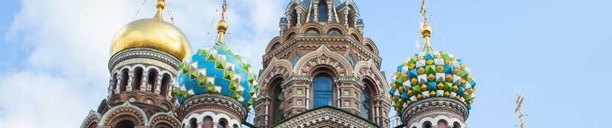Rusia: Moscú y San Petersburgo al completo
