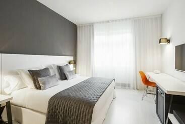 Habitación Hotel Ilunion Bilbao