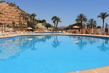 Swimming pool Suites Puerto Marina Aquapark Hotel Mojacar