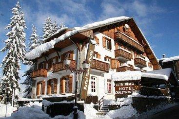 hotel chalet georges en megeve destinia