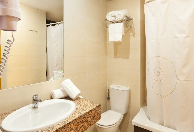 Cuarto de baño Hotel Gala Placidia Benidorm
