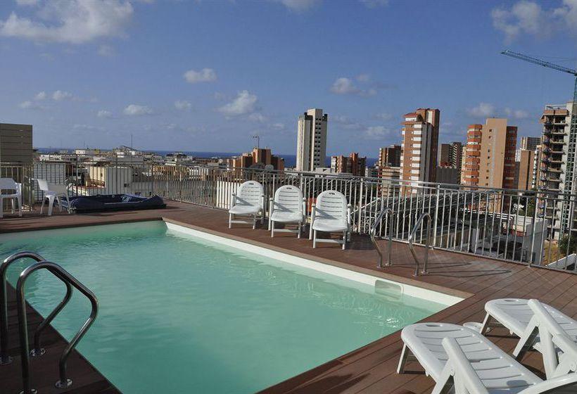Hotel mh sol sombra en benidorm desde 19 destinia for Piscinas benidorm