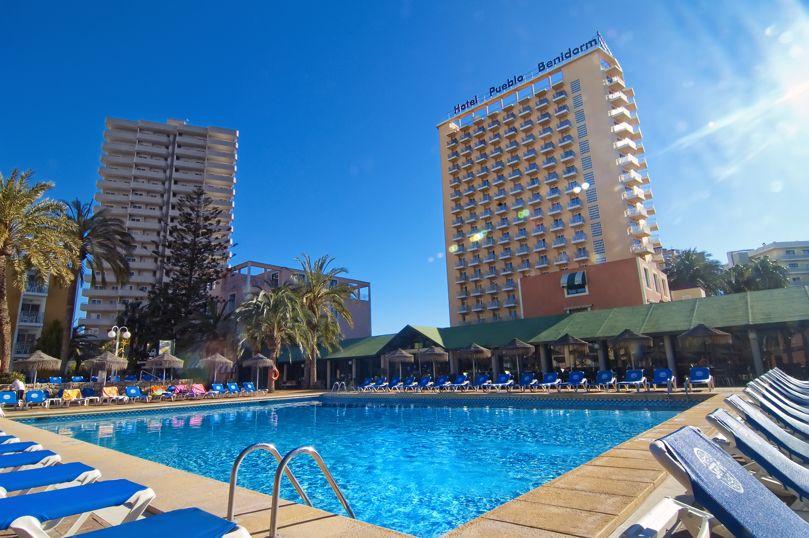 Hotel servigroup pueblo benidorm en benidorm destinia for Hoteles familiares en benidorm