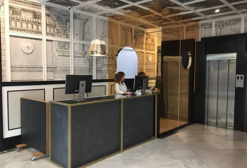 Recepción SH Inglés Boutique Hotel Valencia