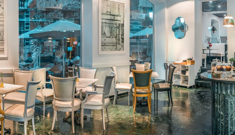 Cafetería SH Inglés Boutique Hotel Valencia