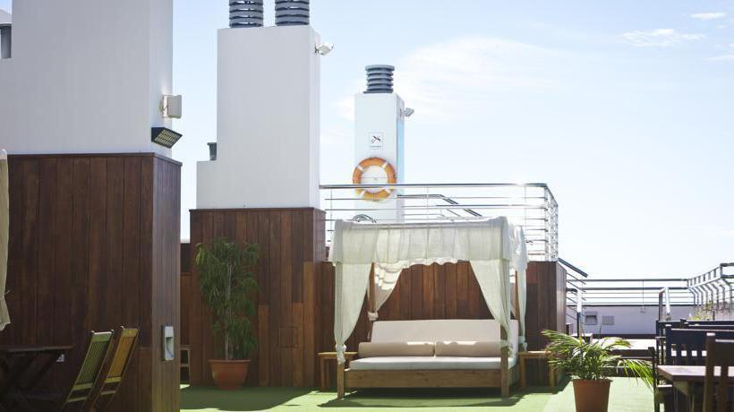 Terraza Cantur City Hotel Las Palmas de Gran Canaria