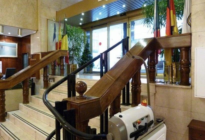 Zonas comunes Hotel Gran Atlanta Madrid