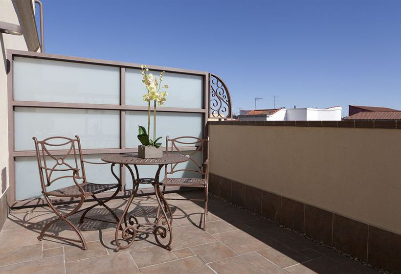 Terraza Hotel Sterling Madrid