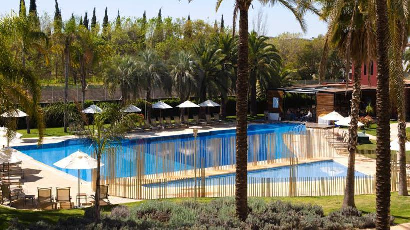 Piscina Hotel Silken Al-Andalus Palace Sevilla