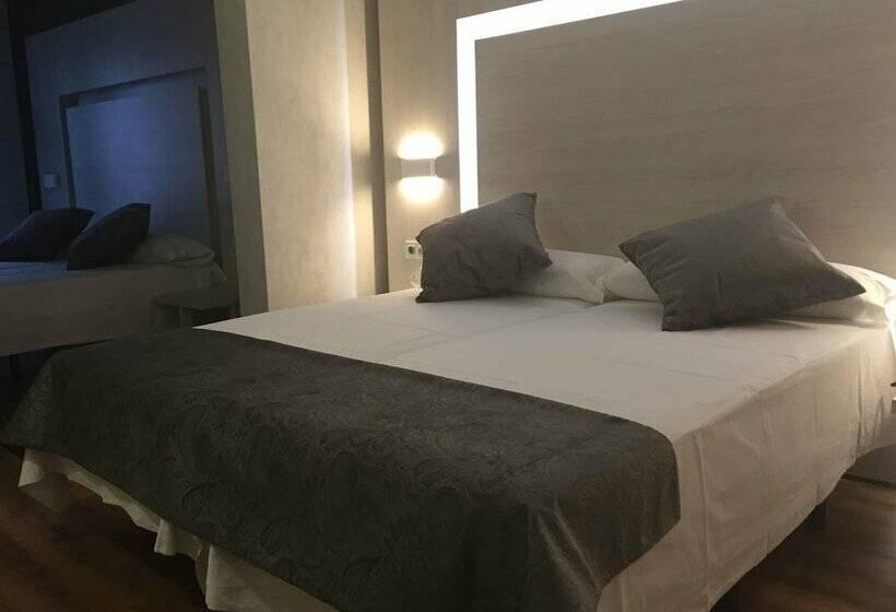Habitación Hostal Lisboa Madrid